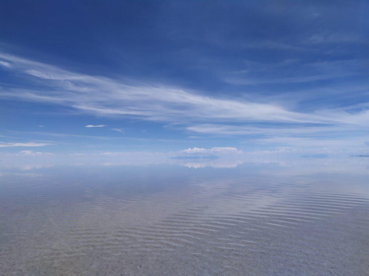 Uyuni Salt Flats Reflection